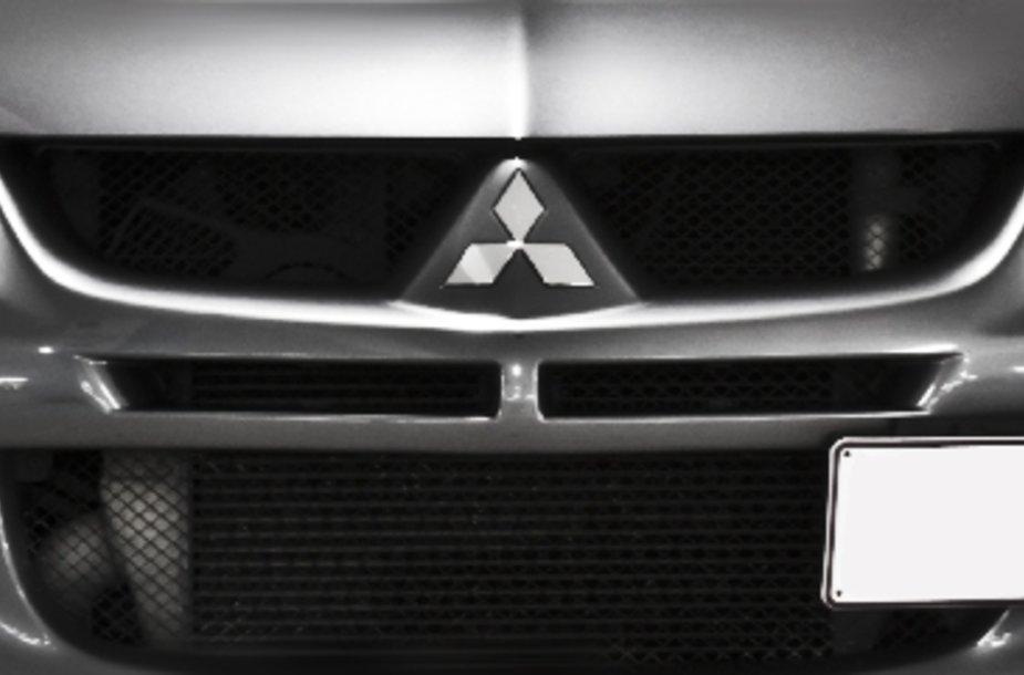 """""""Mitsubishi"""" logotipas"""