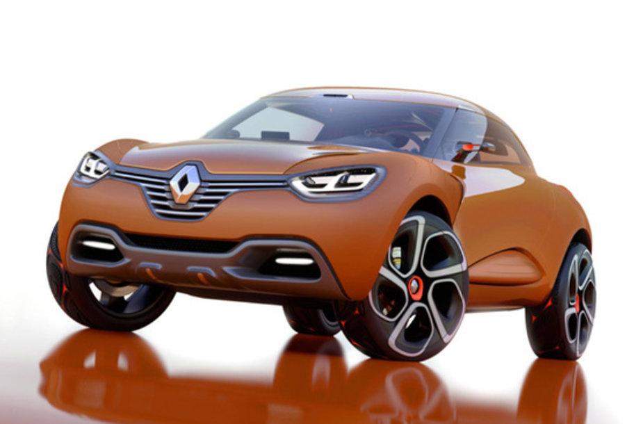 """Renault Captur"" koncepcinis modelis"
