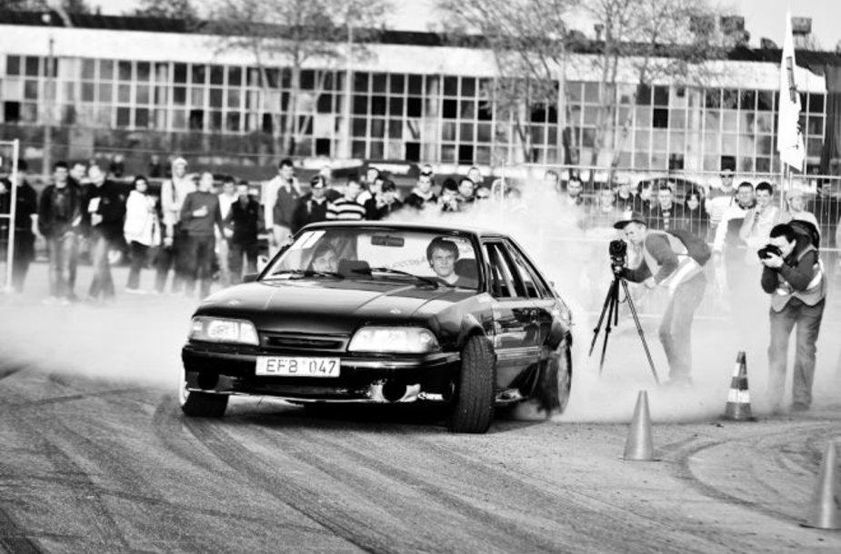 """D1 Sport driftingo čempionato"" 1 kova"