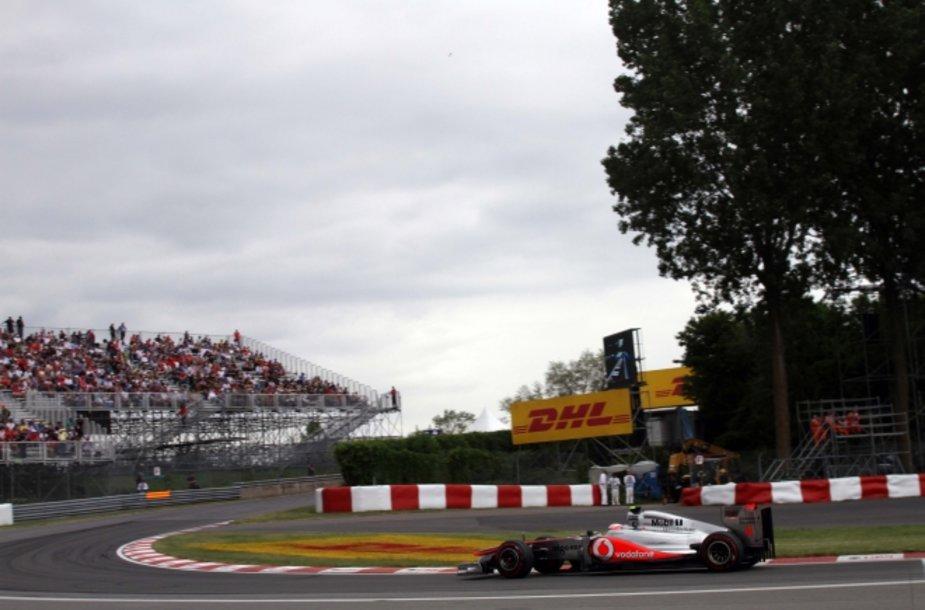 "Jensonas Buttonas/""McLaren Mercedes"""