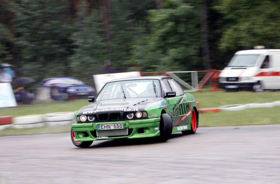 Darius Balys, BMW 5