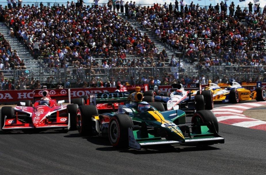 """""""Indycar"""" lenktynės Edmontone"""