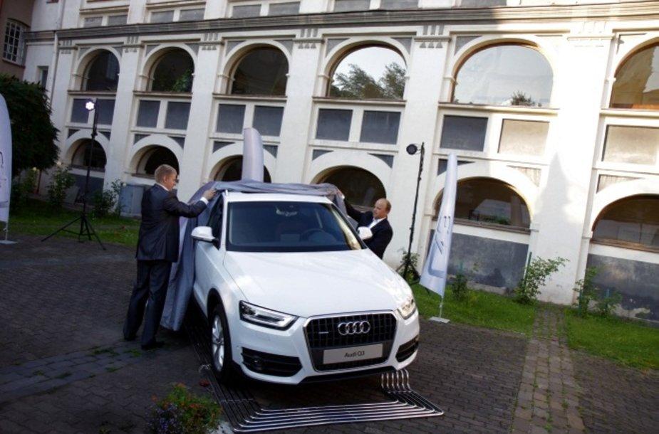 """Audi Q3"" pristatymas"