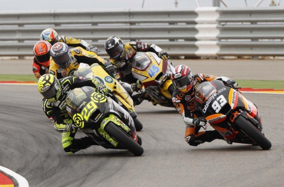 """""""MotoGP"""" lenktynės Aragone"""