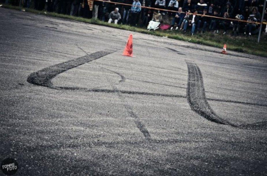 """""""D1Sport driftingo čempionato"""" sezono uždarymas"""