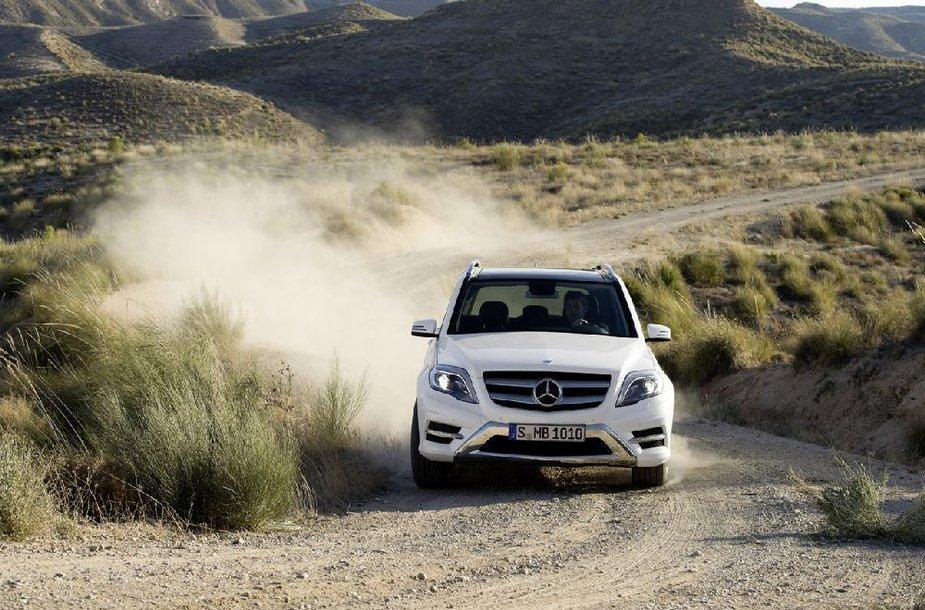 """""""Mercedes-Benz"""" GLK klasės modelis"""
