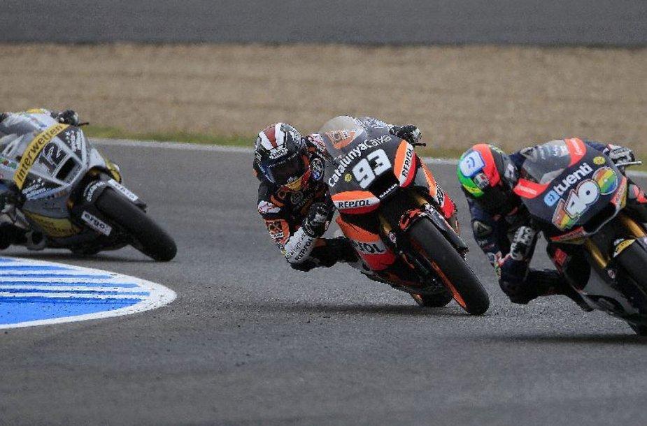 """""""MotoGP"""" lenktynės Ispanijoje"""