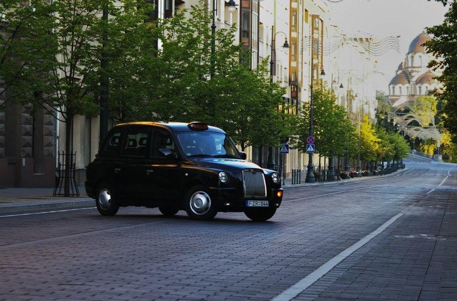 """""""London Cab"""" Vilniuje"""