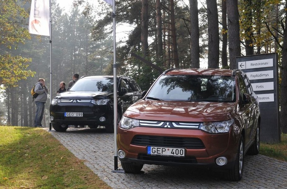 """""""Mitsubishi Outlander"""" Vilniuje"""