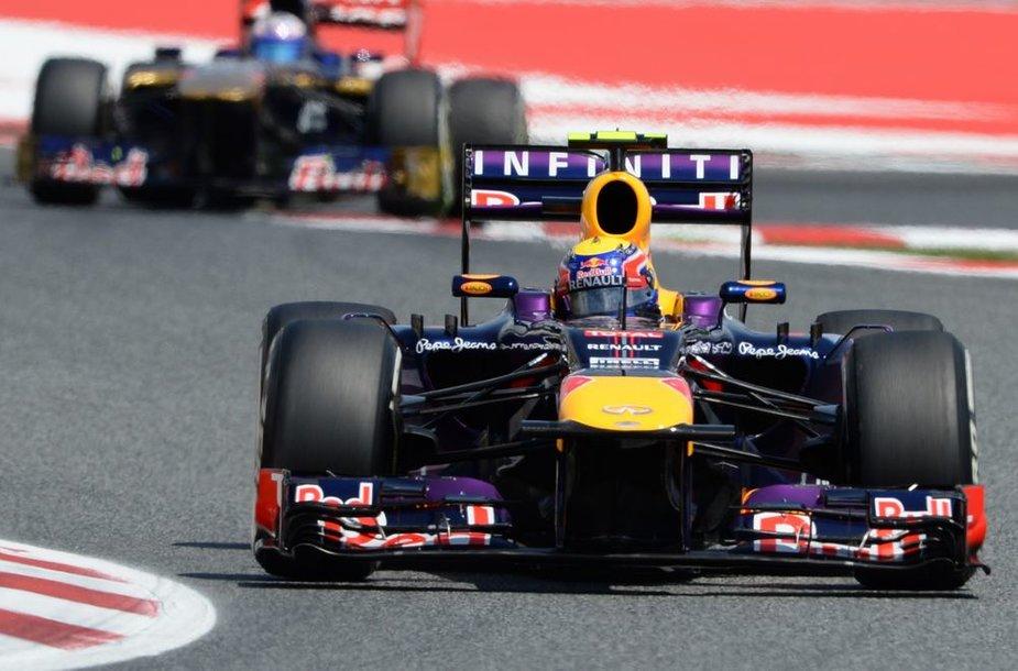 F-1 Barselonos lenktynių kvalifikacija