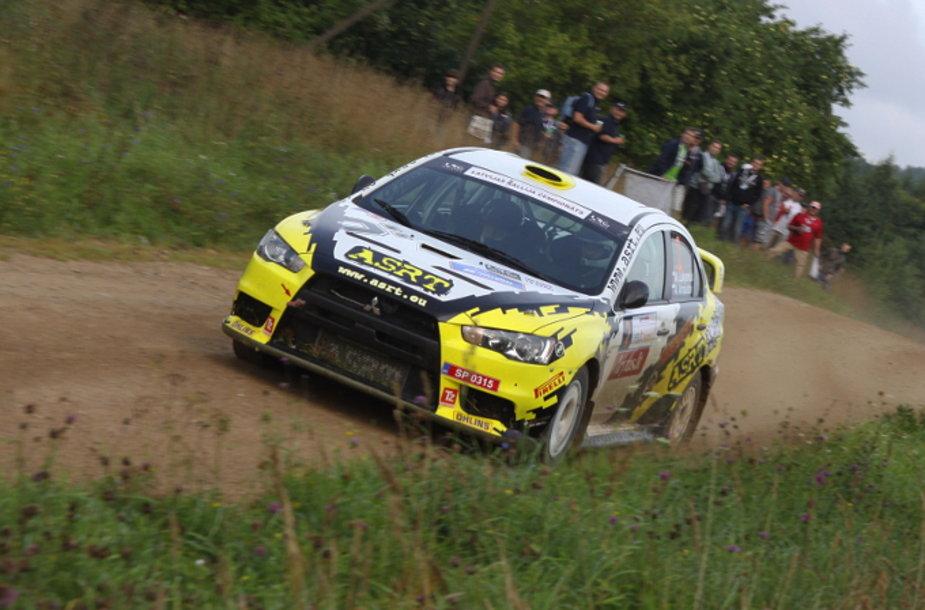 """""""Autoplius 300 lakes rally"""": penktas greičio ruožas"""