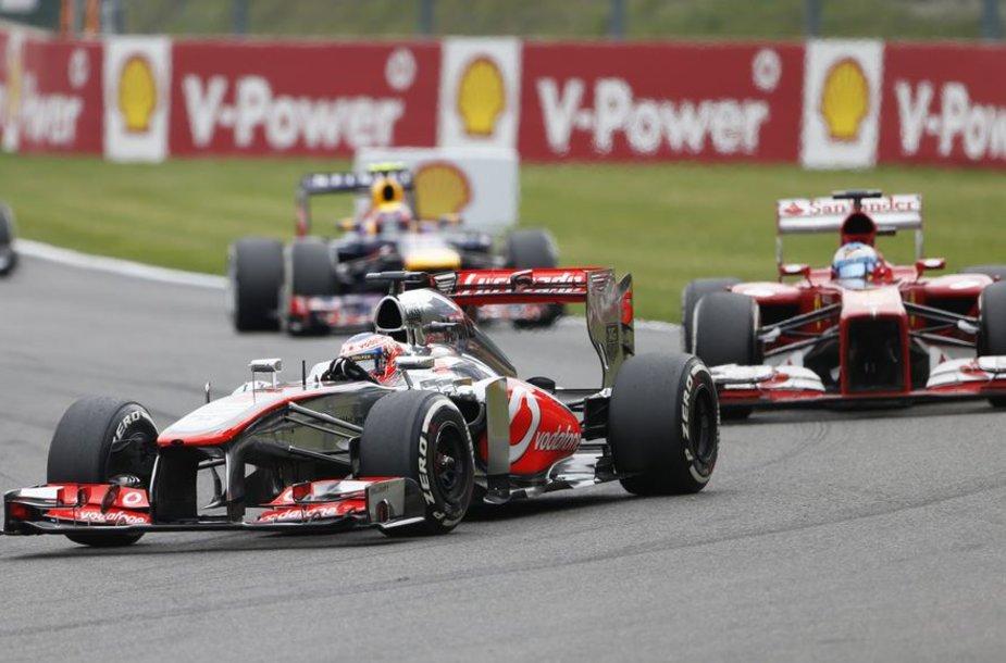 F-1 lenktynės Belgijoje