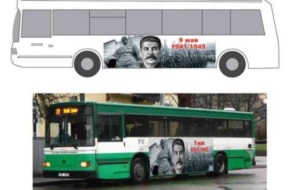 Taip atrodys autobusai.