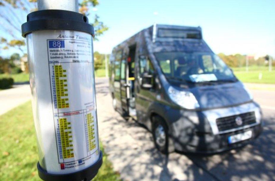 Naujas ekologiškas autobusas