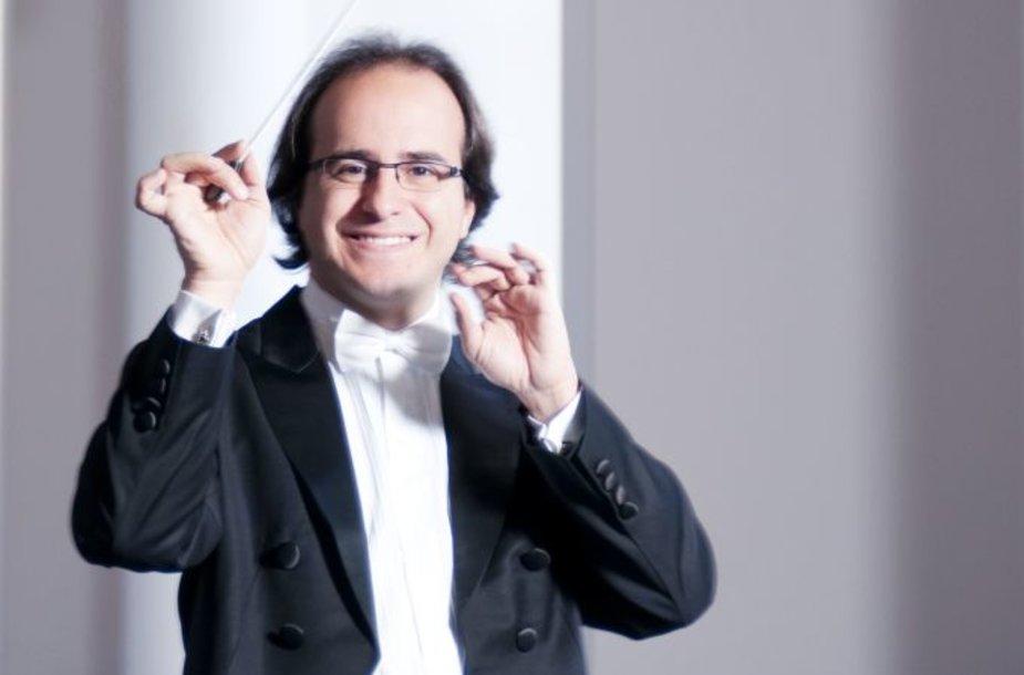 Dirigentas Gianluca Marciano.