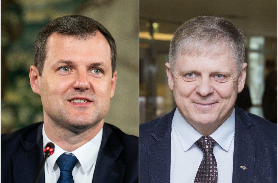 Gintautas Paluckas ir Edmundas Pupinis