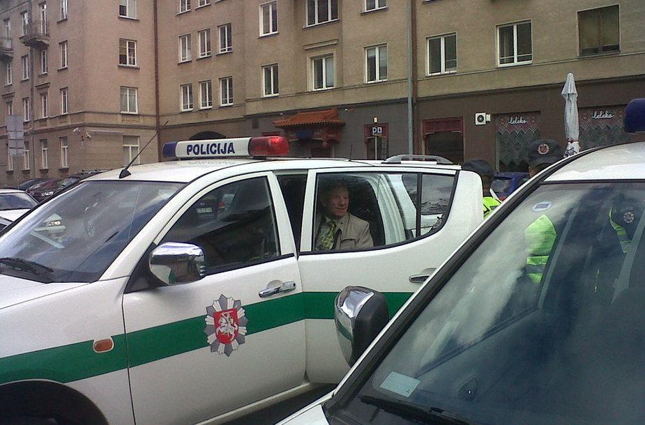 M.Virkietis sulaikytas policijos.