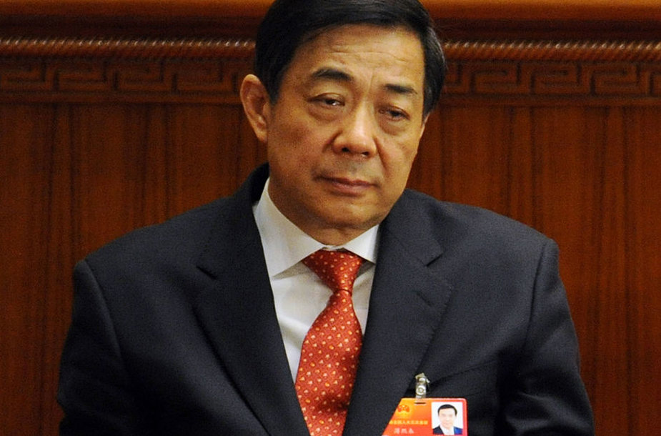 buvęs Komunistų partijos lyderis Bo Xilai