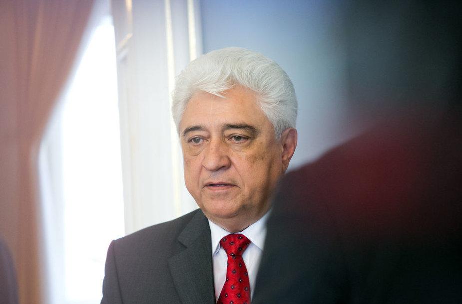 Rusijos ambasadorius Lietuvoje Vladimiras Čchikvadzė