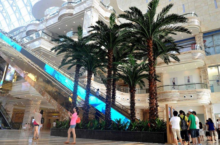 """""""New Century Global Center"""" pastatas Vakarų Kinijoje"""