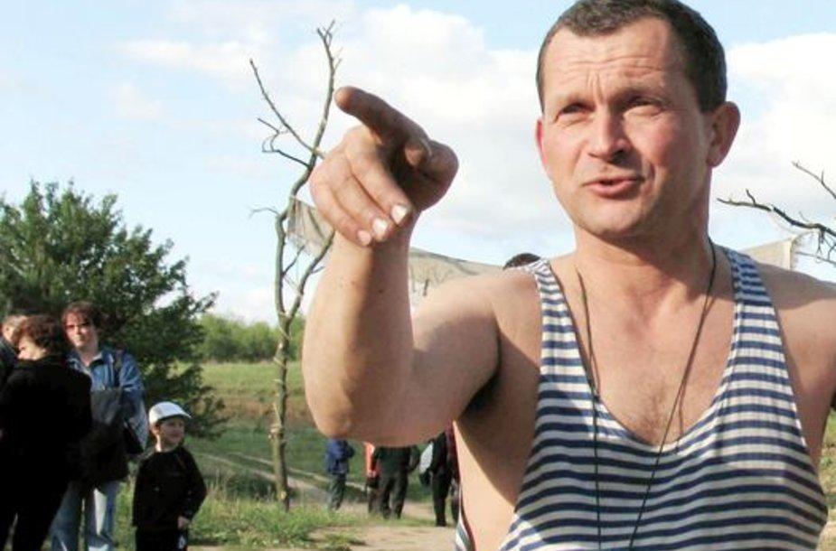 Vienas iš aktyviausių Lazdijų rajono žvejų mėgėjų, lazdijietis Sigitas Babarskas