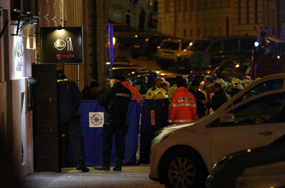 """Prahoje kilo gaisras viešbutyje """"Eurostars David"""""""