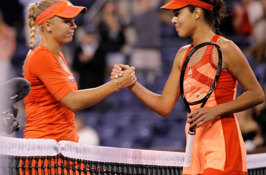 Caroline Wozniacki ir Ana Ivanovič