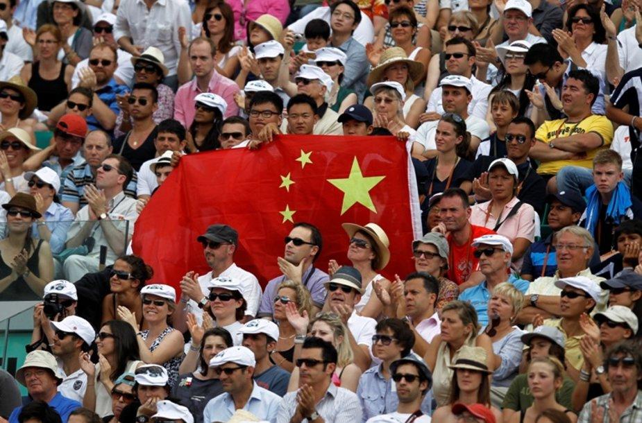 Kinijos teniso aistruoliai