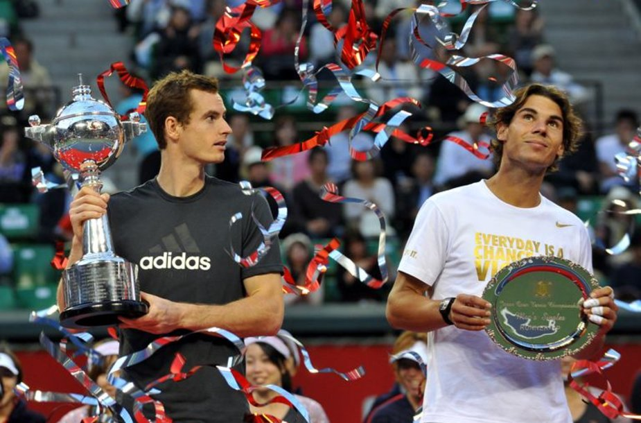 Andy Murray ir Rafaelis Nadalis