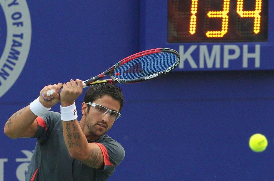 Janko Tipsarevičius antrus metus iš eilės žais Indijos turnyro finale