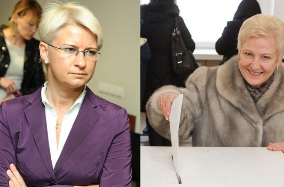 Neringa Venckienė ir Irena Degutienė