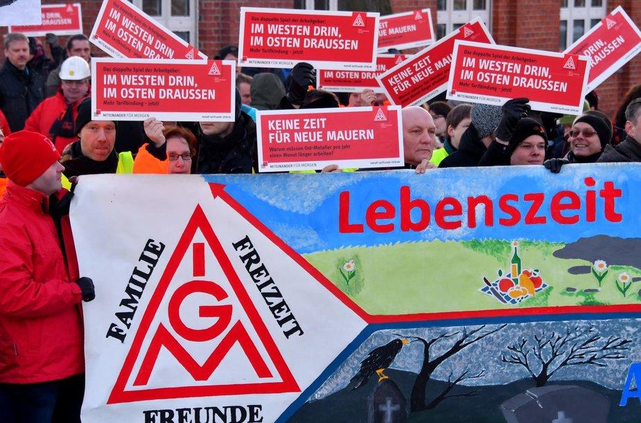 Vokietijos darbuotojų streikas