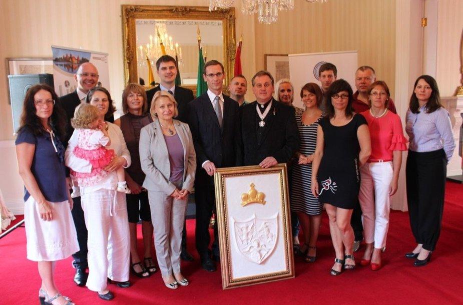 Pasaulio lietuvių vienybės diena Airijoje