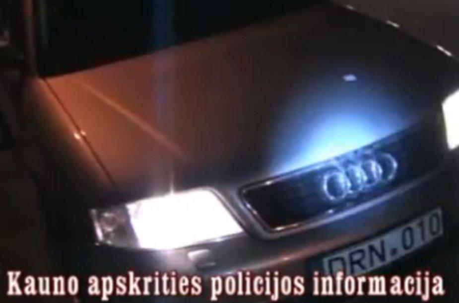 "Automobilis ""Audi A6 Avant"""