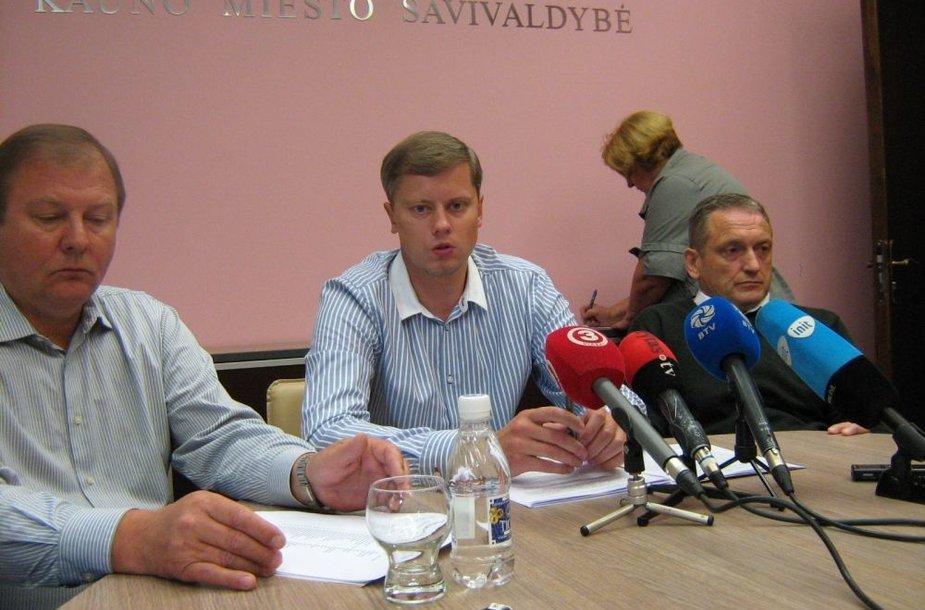 Vygandas Gudėnas, Andrius Kupčinskas ir Stanislovas Buškevičius dėl KTE pardavimo ketina kreiptis į prokuratūrą