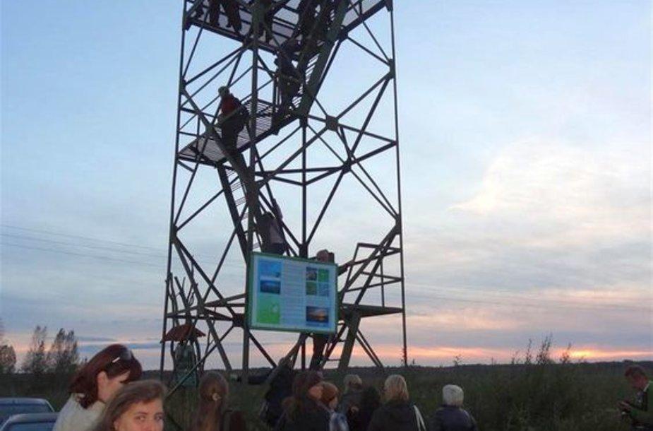 Gervių stebėjimo bokštelis