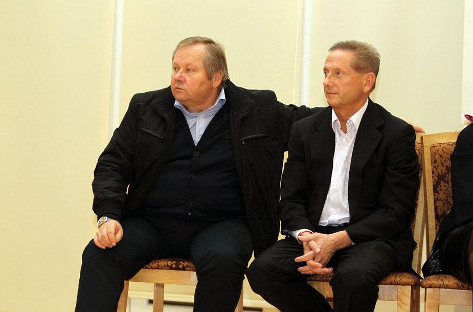 Gintaras Ugianskis ir Vladimiras Romanovas