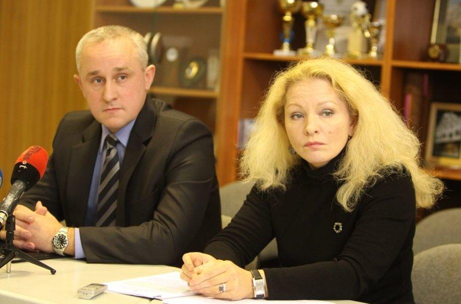 Vitoldas Guliavičius ir Auksė Lipkevičienė