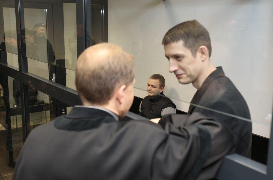 Paulius Kairys (d.) ir Povilas Butėnas