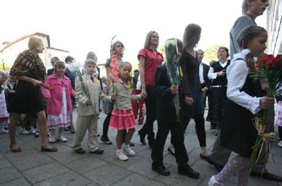 Šiemet į Klaipėdos mokyklas ateis mažiau moksleivių.
