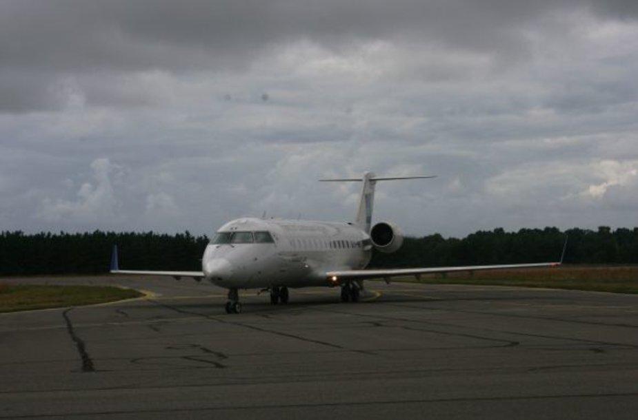 Daugėja reguliarių skrydžių iš Palangos oro uosto.