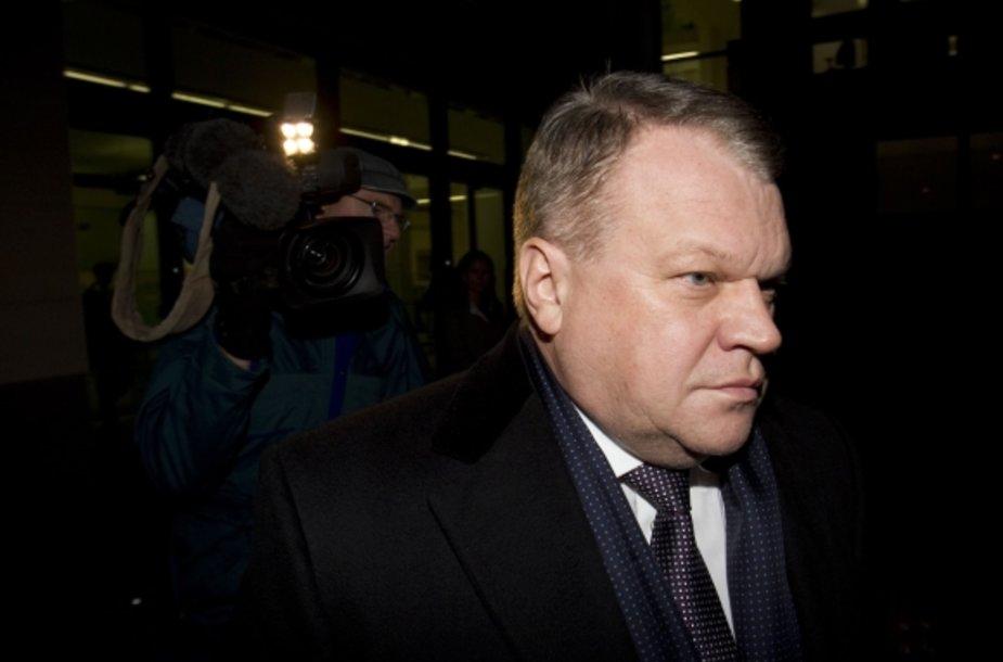 Raimondas Baranauskas palieka Vestminsterio teismą