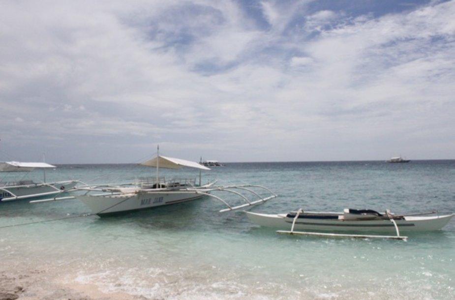 Viena iš gausybės Filipinų salų pakrančių