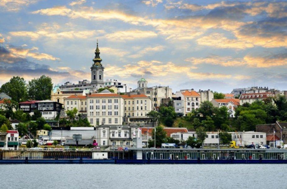 Belgradas prie Dunojaus krantų.