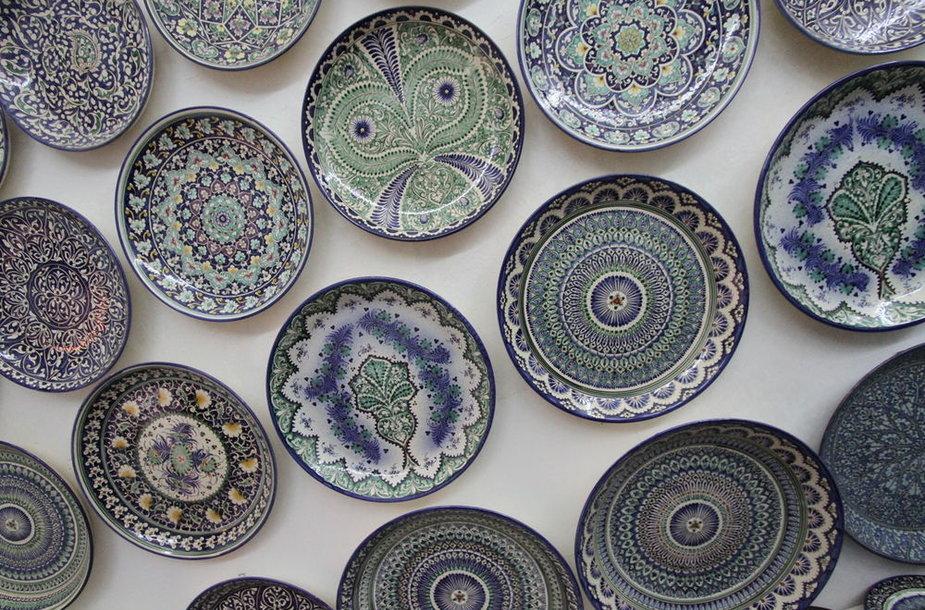Uzbekistano keramika.