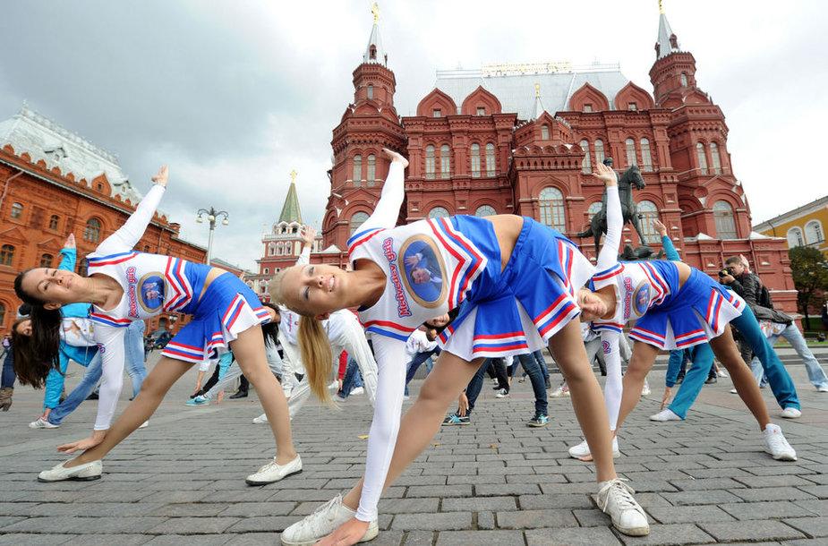 Šokėjos Maskvoje