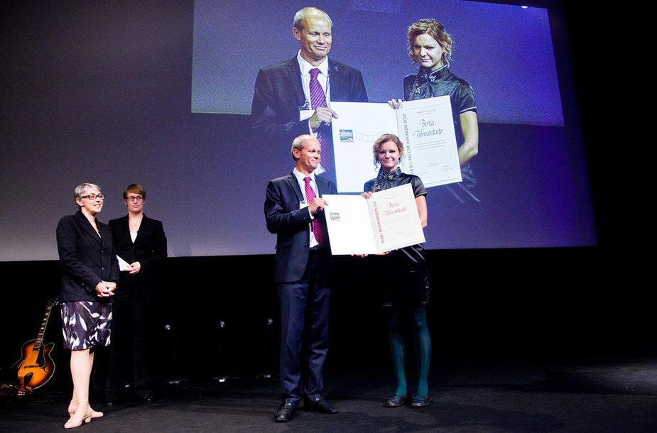 Lietuvos žurnalistei įteiktas Pasaulinės vandens savaitės apdovanojimas