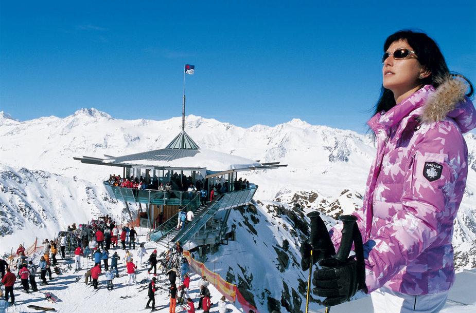 Solden slidinėjimo kurortas Austrijoje