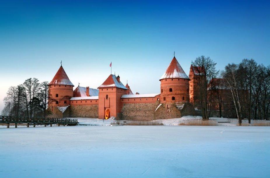 Trakų pilis – viena gražiausių Europoje