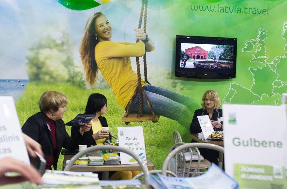 """""""Adventur"""" parodoje netrūko ir vietos, ir užsienio turizmo naujovių"""